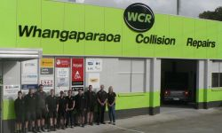 Whangaparaoa Collision Repairs Premises and team