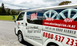 The Wheel Magician van - Wellington Car Dealers