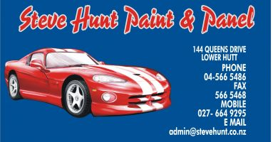 Steve Hunt Paint & Panel Taita