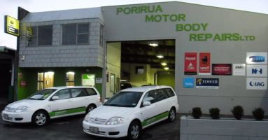 Porirua Motor Body Repairs Ltd