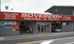Sovereign Panel & Paint Ltd, Tawa, Wellington