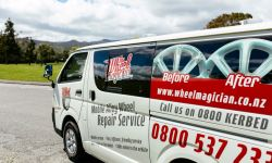 The Wheel Magician North West Christchurch - Car Dealers
